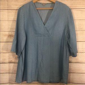 COS denim style shirt 😍